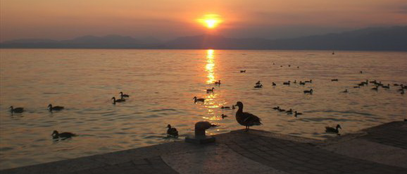 Charmerende Lazise ved Gardasøen
